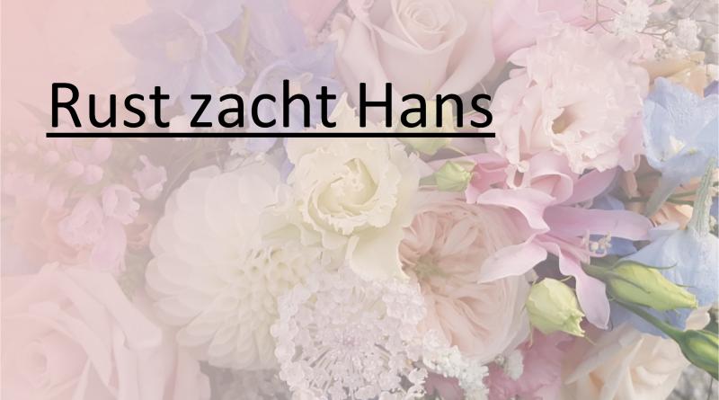 Rust_zacht overleden trainer Hans Macaré