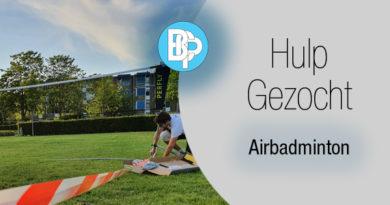 Help bij het | Buiten doorspelen in de zomer! |Airbadminton 2021